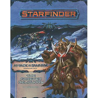 Starfinder Adventure Path: The Forever Reliquary (Attack of the Swarm! 4 of 6) by Kate Baker (Paperback, 2019)