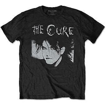 Cure - The - Robert Illustration Unisex Large T-Shirt - Negro