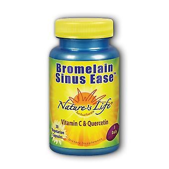 Nature's Life Bromelain Sinus Ease, 1200 mg, 30 caps