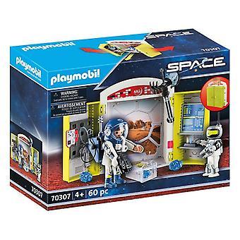 プレイセット宇宙ミッションに火星胸プレイモービル70307(60個)
