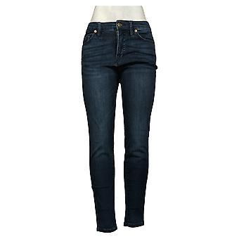 Colleen Lopez Dames Jeans Denim Skinny Blue 711409