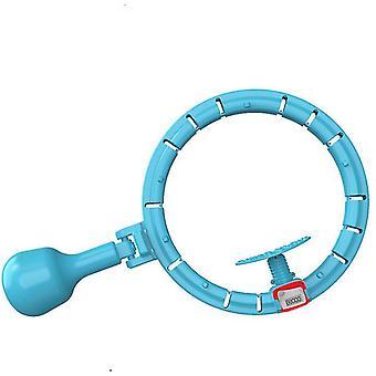 Contorizare automată Smart Hula Hoop cu detașabilă pentru exerciții de fitness (albastru)