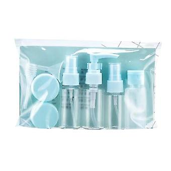 11 Portable Travel Cosmetic Bottles For Travel(Blue)