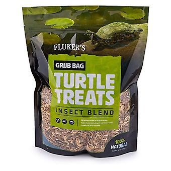 Flukers Grub Bag Turtle Treat - Insect Blend - 12 oz
