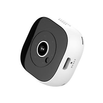 Mini HD 1080p DV camera, support infrared night vision and motion detection(White)