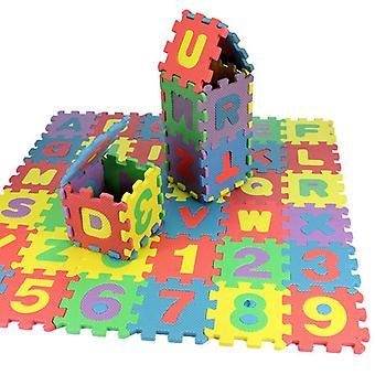 ナンバーアルファベットパズルフォーム数学の教育玩り
