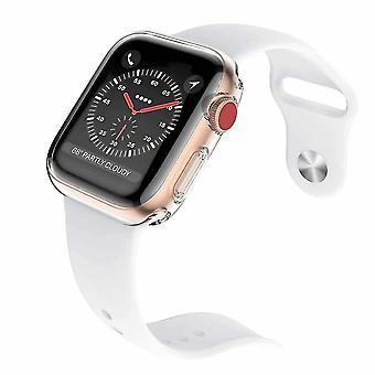 Caixa de 2 pacotes série 3 38mm para protetor de tela do Apple Watch, caso de proteção geral iwatch