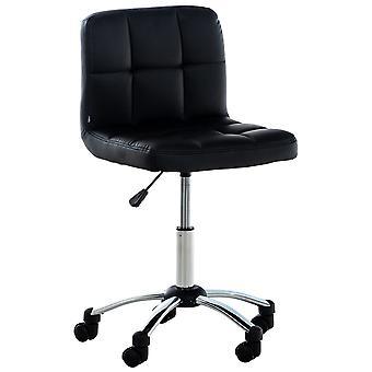 Chaise de bureau - Chaise de bureau - Bureau à domicile - Moderne - Noir - Métal - 44 cm x 37 cm x 90 cm