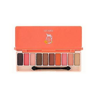Makeup brushes 10colors matte eye shadow fashion glitter eyeshadow makeup nude set style cosmetics|makeup sets