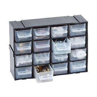 16 Multi szuflada Szafka blokujące wykonane z trwałego tworzywa sztucznego