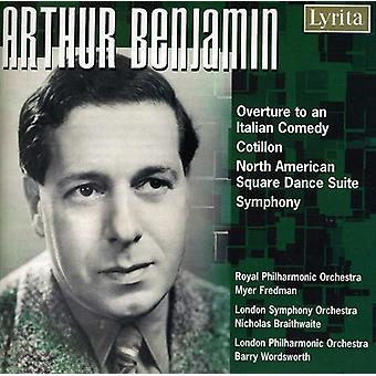 Orchestral Music - Arthur Benjamin: Overture to an Italian Comdey; Cotillon; North American Square Dance Suite [CD] USA import