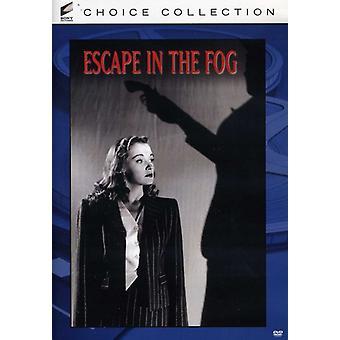 Escape in the Fog [DVD] USA import