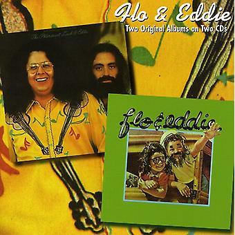 Flo & Eddie - Phlorescent Leech & Eddie/Flo & Ed [CD] USA import