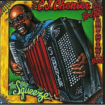 C.J. Chenier & Red Hot Louisia - Big Squeeze [CD] USA import