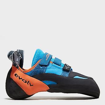 New Evolv Men's Shaman Climbing Shoes Blue
