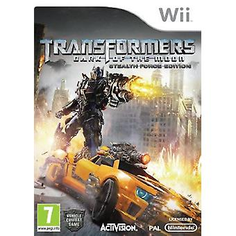 Transformers Dark of the Moon Stealth Force Edition with Toy Nintendo Wii Game