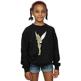 Disney Girls Peter Pan Classic Tinkerbell Sweatshirt