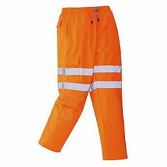 Portwest - Workwear Rail de sécurité Hi-Vis côté des voies Bottoms pantalon de Jogging