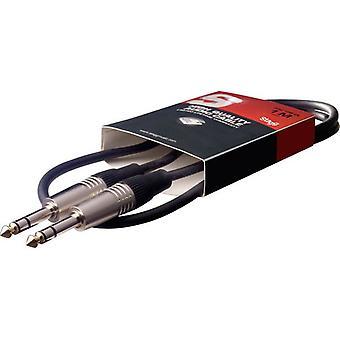 Σταγκ Jack προς Jack συσκευή ήχου Deluxe καλώδιο 6mm έως 6mm-1M/3ft (SAC1PSDL)
