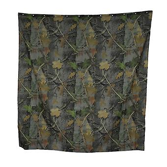 Realtree Camouflage Print 70 Inch X 72 Inch Shower Curtain With 12 Rings