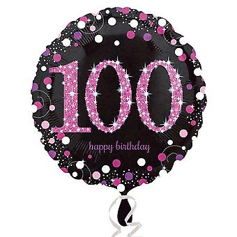 Amscan Milestone Birthday Celebration Round Foil Balloon (Age 18-100)