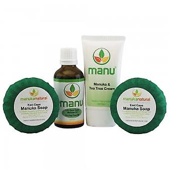 Manuka Naturals Scabies Combo - With Manuka Soap, Oil and Cream