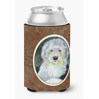 Carolines skatter 7252CC Old English Sheepdog kan eller flaske Hugger