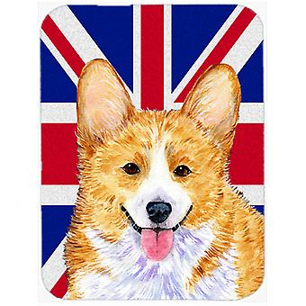 Corgi Englanti Union Jack Britannian lipun lasi leikkaus hallituksen suuri koko