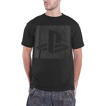 Playstation T Shirt Player Classic Logo new Official Mens Black