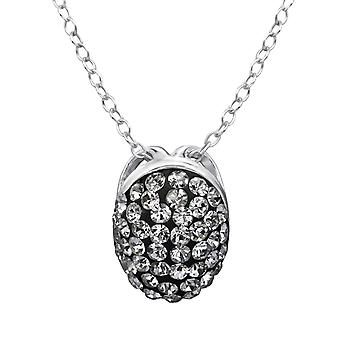 Ovaal - 925 Sterling Zilver Jewelled kettingen - W28234X