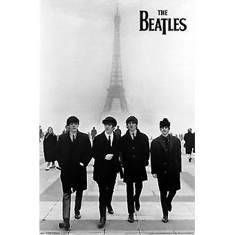 فريق البيتلز--طباعة الملصقات ملصق برج إيفل
