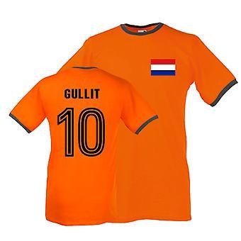 Ruud Gullit Holland dzwonka Tee (pomarańczowy)