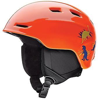 Smith lo Zoom casco Junior - Neon arancio Dinos