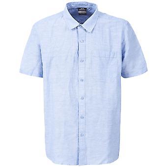 Hausfriedensbruch Mens Saratow Kurzarm lässig Shirt