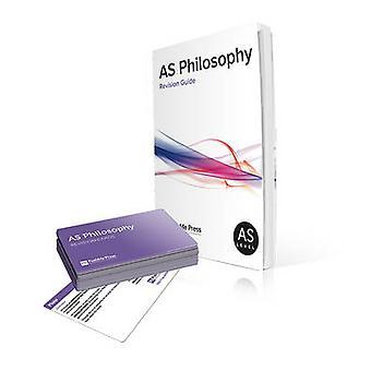 AS Philosophy Revision Guide und Karten für Edexcel von Brian Poxon