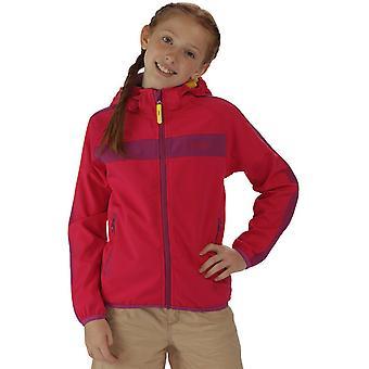 Regatta jongens & meisjes Arowana II Hooded rekken Softshell jas