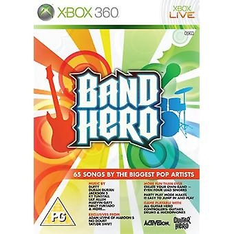 Band Hero - Game Only (Xbox 360) - Factory Sealed