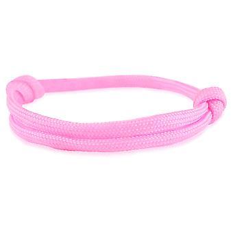 Skipper bracelet surfer band node maritimes bracelet nylon pink 6750