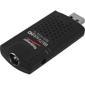 TV stick Hauppauge WinTV-Solo HD incl. DVB-T aerial, incl. remote control, Recording function No. of tuners: 1
