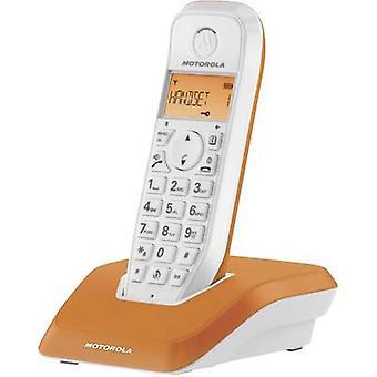 Motorola STARTAC S1201 DECT, GAP Cordless analogue Orange, White