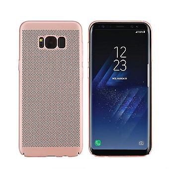 Matkapuhelin tapauksessa Samsung Galaxy S8 holkki tapauksessa laukku kansi kotelo vaaleanpunainen