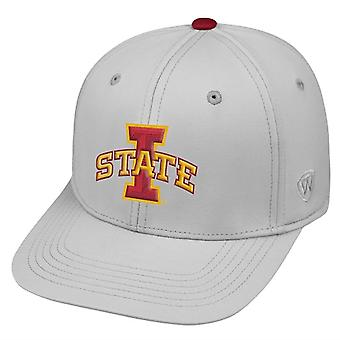 Iowa State Cyclones NCAA TOW Impact Gray Stretch Fitted Hat
