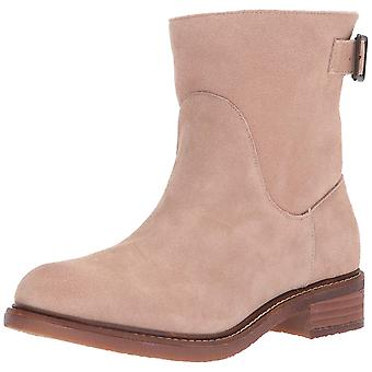 Kelsi Dagger Womens Brooklyn Suede Almond Toe Ankle Cold Weather Boots