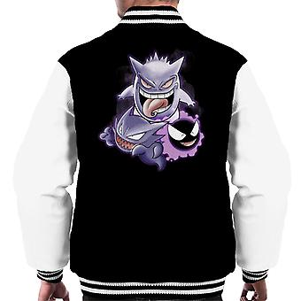 Sweet Dreams Ghastly Haunter Gengar Pokemon Men's Varsity Jacket
