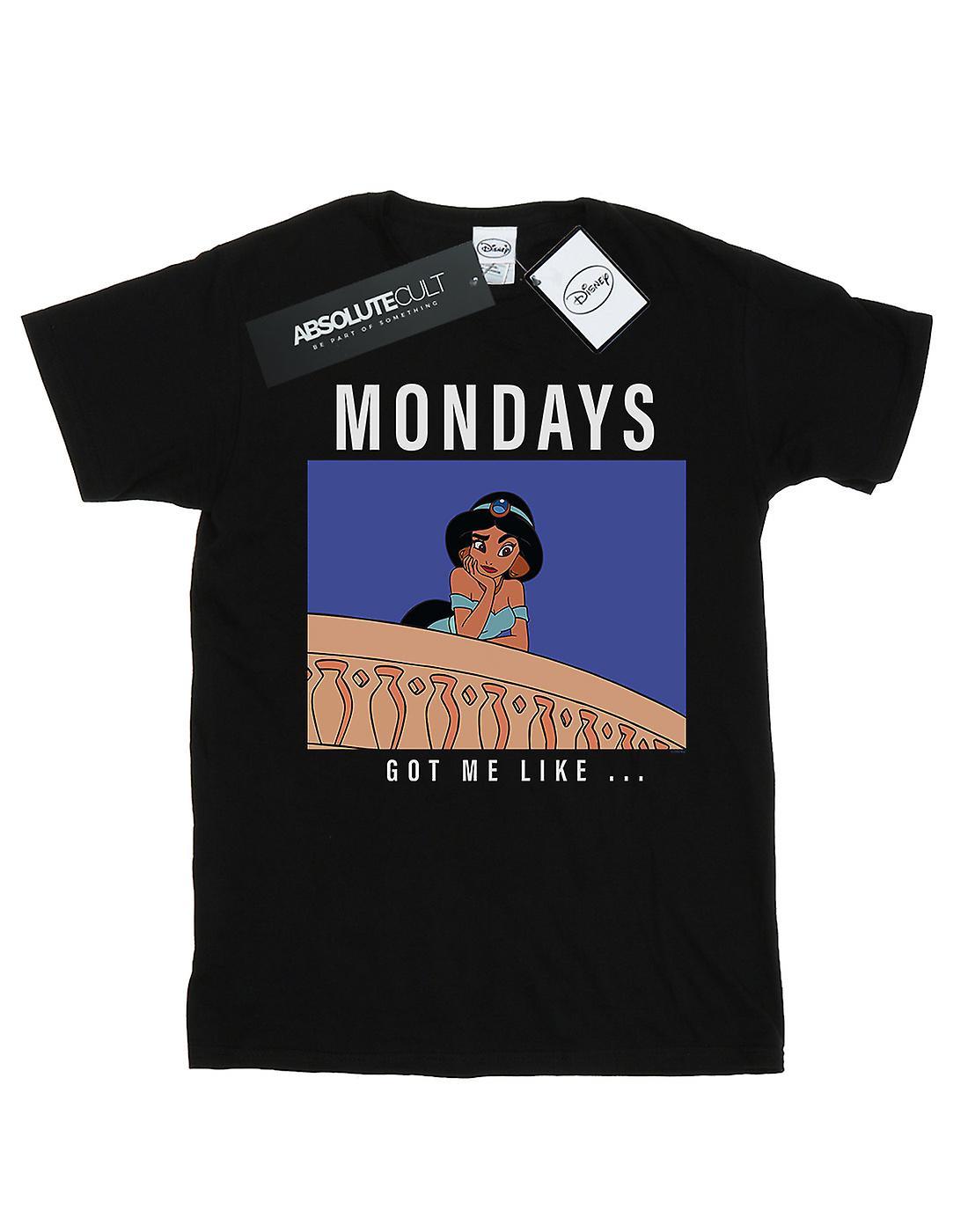 Disney Princess Men's Jasmine Mondays Got Me Like T-Shirt