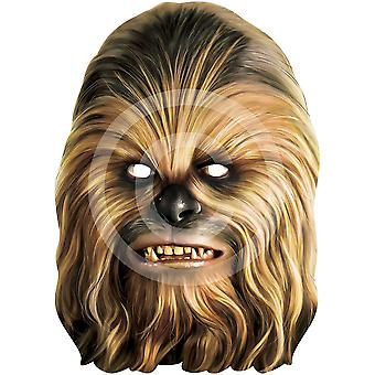 Chewbacca Card Face Mask