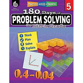 180 Days of Problem Solving for Fifth Grade (Grade 5) by Stacy Monsma