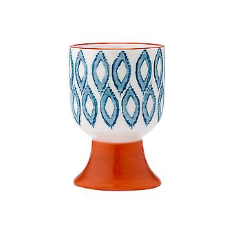 Ladelle mosaico pintado Ikat ovo Cup