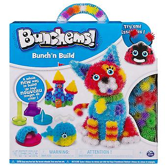 Bunchems Bunch'N bygge aktivitet Kit med 4 Shaper forme
