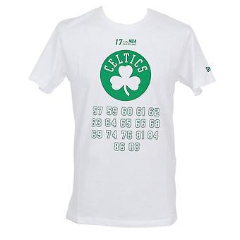 ニューエラ NBA のチーム チャンピオン t シャツ 〜 ボストン ・ セルティックス